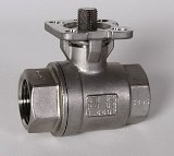 2-Way Stainless Steel Ball Valve