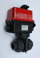 Electric Actuator with PVC Ball Valve