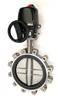 Stainless Steel Butterfly Valve with Electric Actuator